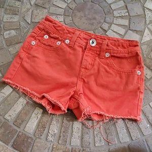 Orange Justice shorts